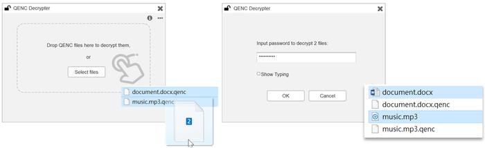 QENC Decryper
