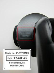 JF-BTFMAXK Serial Number