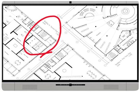 CADソフトのデータを表示