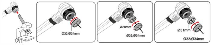 TC-10 顕微業アダプタ